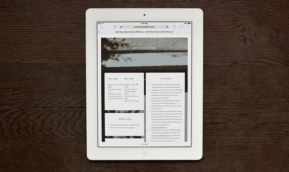 Faculty-NSB-Church-Website-Design-iPad