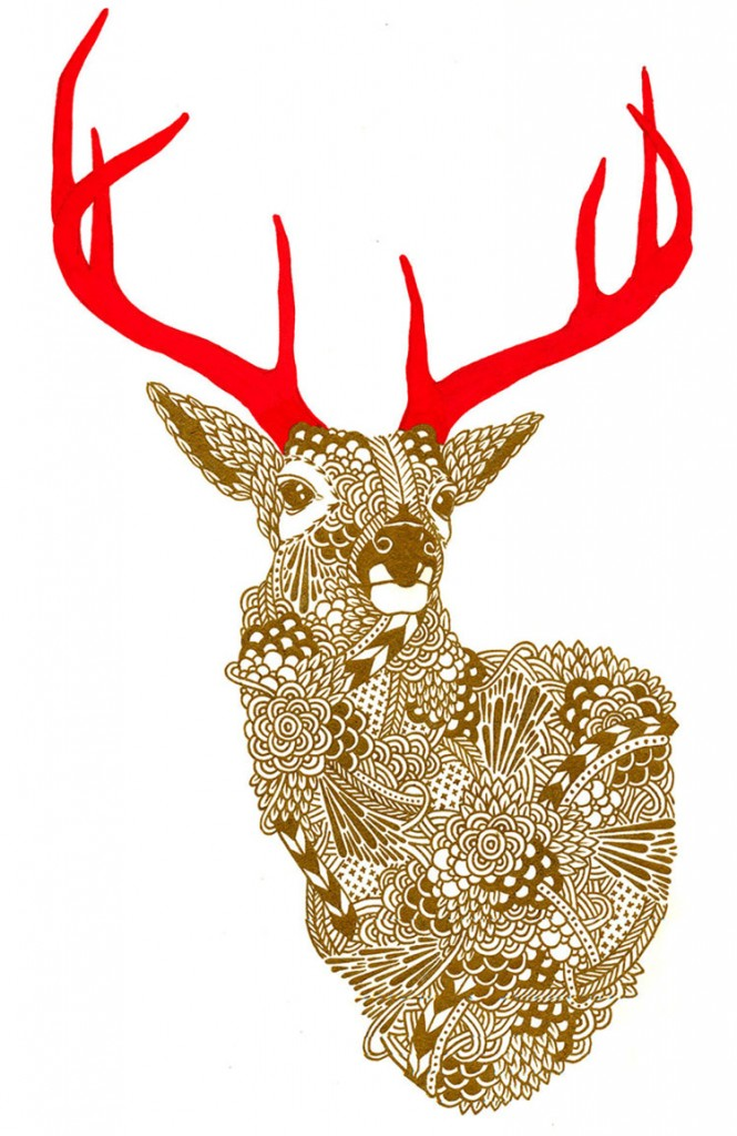 kirsten-mccrea-gold-deer