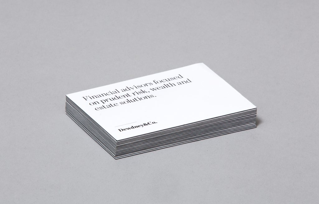 Dedney and Co Business cards